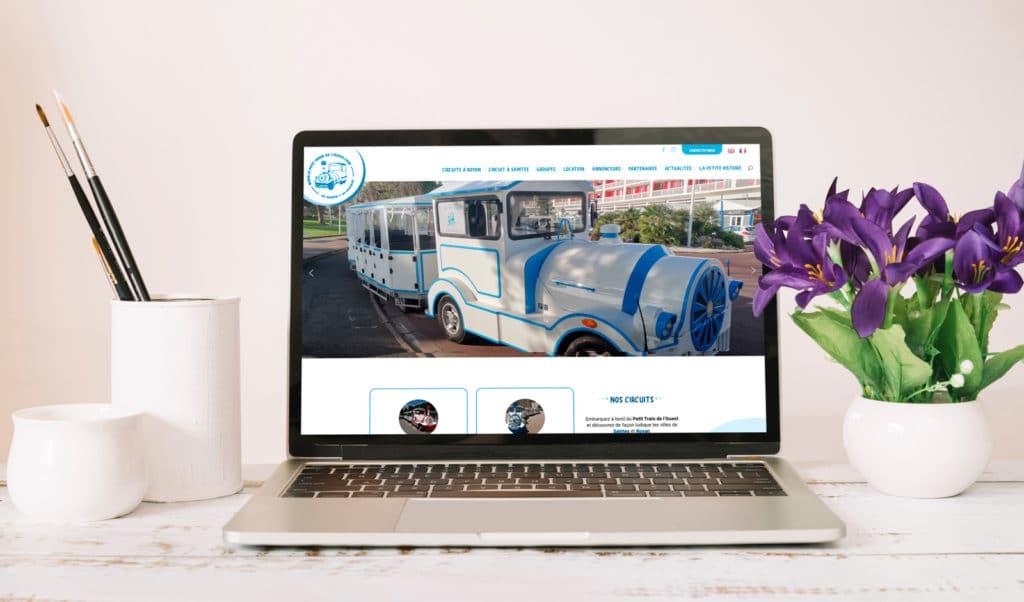 Refonte du site Internet de Le Petit Train de l'Ouest