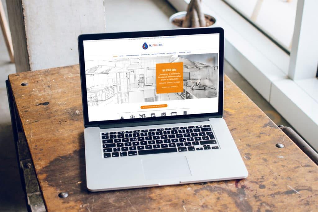 Refonte du site web de BC PRO CHR par l'agence digitale Naskigo