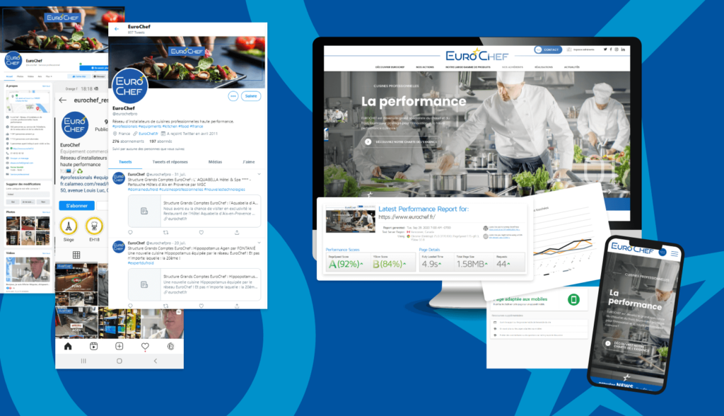 Audit Web marketing Eurochef