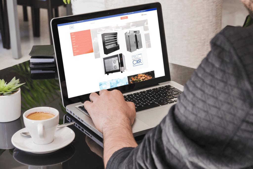 Site e-commerce Pro Equipement CHR