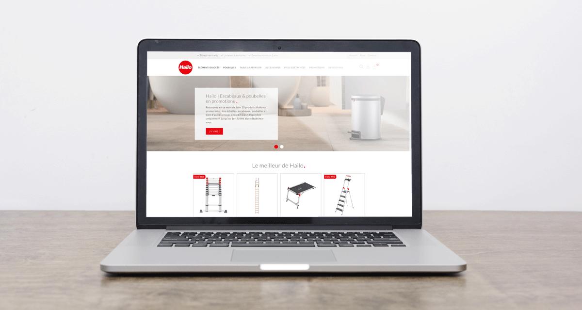 Refonte du site e-commerce Hailo Shop France