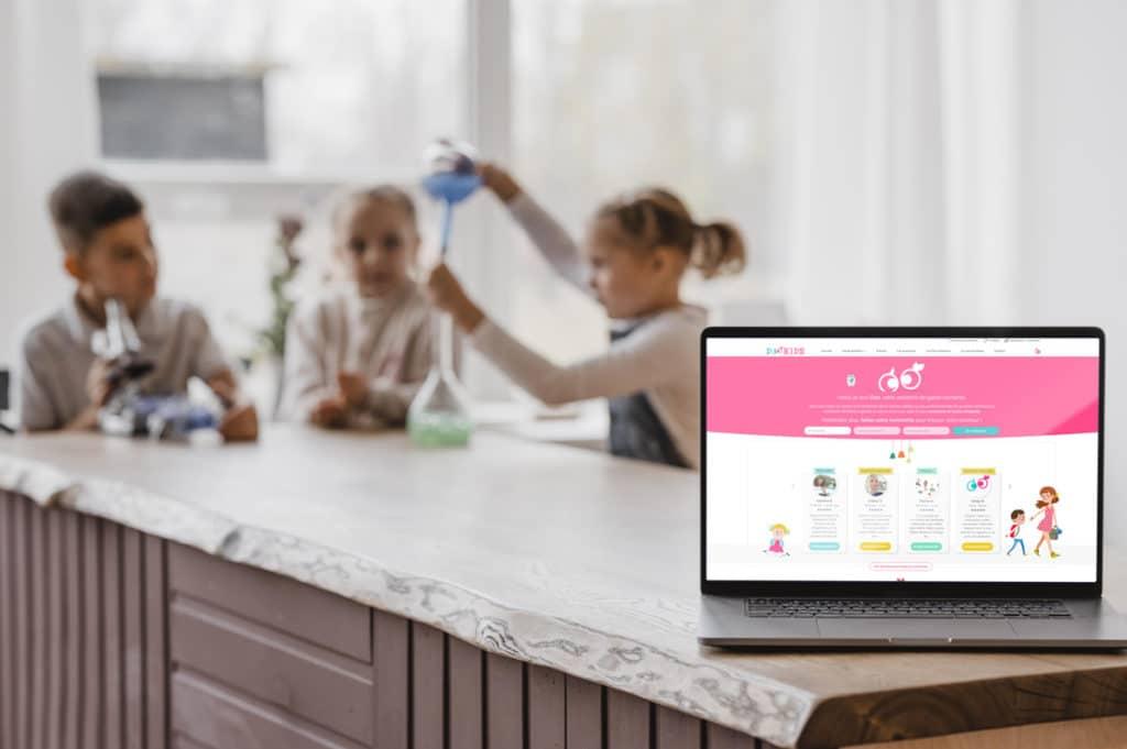 Refonte site e-commerce de petites annonces garde d'enfant Dookids