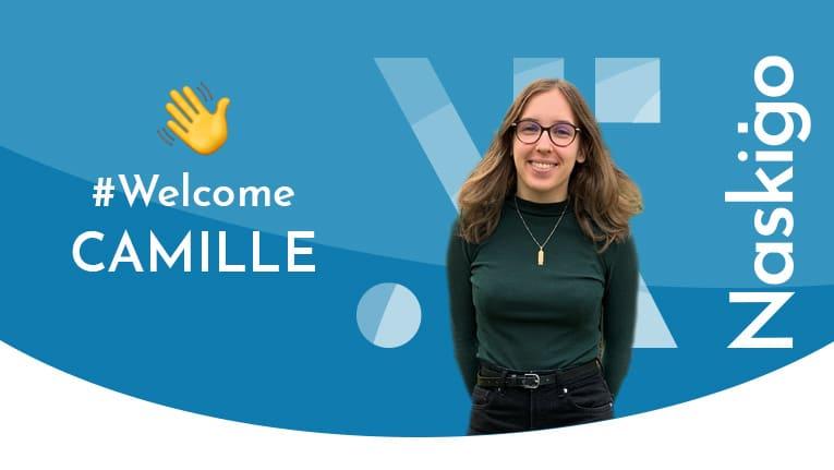 Camille Granjard, webdesigner en alternance chez Naskigo